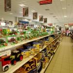 Wnętrze sklepu rolniczo-technicznego GRENE